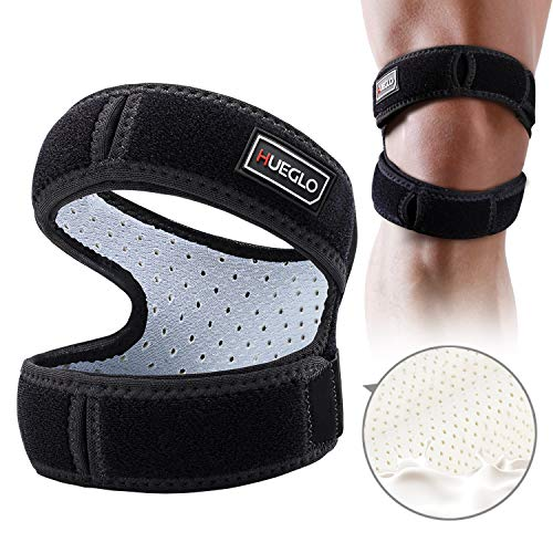 Patella Knee Strap for Running,Knee Stabilizing Brace Support for Tendonitis,Osgood schlatter,Arthritis, Meniscus, Tear,Runners,Chondromalacia,Injury ()