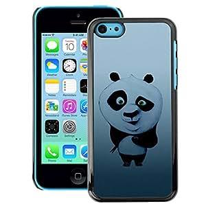 Snap-on Series Teléfono Carcasa Funda Case Caso para iPhone 5C , ( Cute Sushi Panda )
