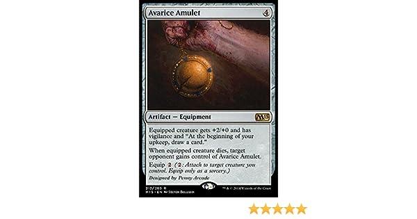 Amazon com: Magic: the Gathering - Avarice Amulet (212/269