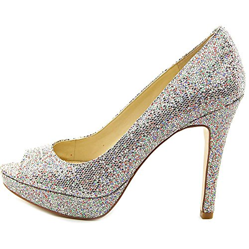 399a7f3fa4ad2 INC International Concepts Plum Women Peep-Toe Synthetic Silver ...