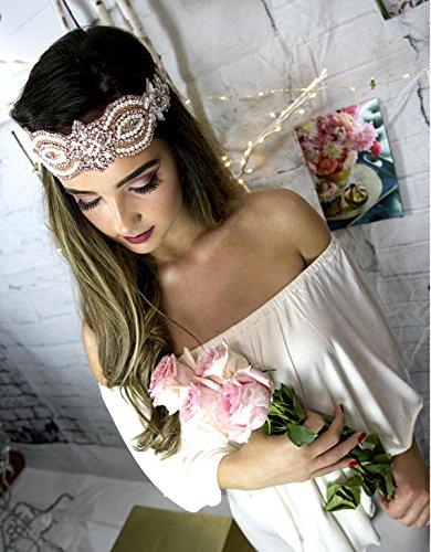 Forehead Band, Bridal Headpiece, Boho Hair Jewelry, Chain Headband, Women's Hair Accessories, Vintage Hair Piece