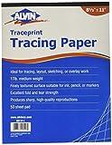 Alvin Traceprint Tracing Paper 50-Sheet Pad 8-1/2'' x 11''