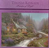 Twilight Cottage - Thomas Kincade 1000 Piece Puzzle by Ceaco