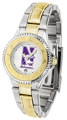 Ladies Watches Northwestern Wildcats - Northwestern Wildcats Competitor Two-Tone Women's Watch