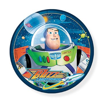 - Buzz Lightyear Dessert Plates 8ct