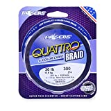 HI-SEAS QUATTRO Braid Fishing Line (150 Yards/30 Pounds, Camo)