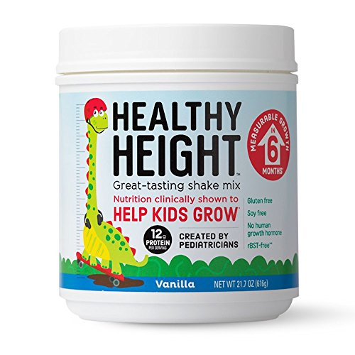 Healthy Height Shake Mix   Developed By Pediatricians   Improving Child Growth   Great Source Of Vitamin C And Zinc   No Artificial Flavors   14 Servings Vanilla   Picky Eater Approved