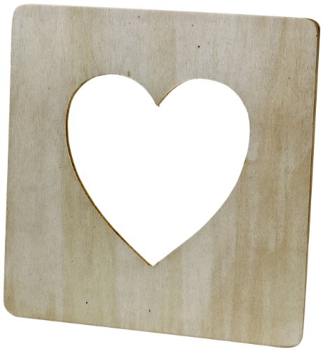 Plaid Value Frame (7-1/2 by 7-1/2-Inch), 97542 Heart