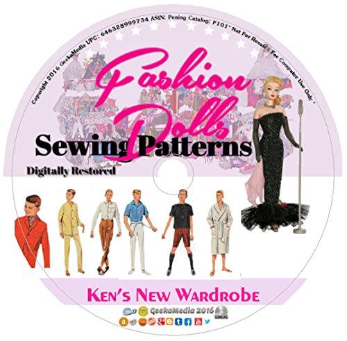 (Ken's New Wardrobe: Sewing Patterns Barbie's Boyfriend P101)