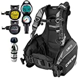Cressi R1 BCD Scuba Gear Package Small