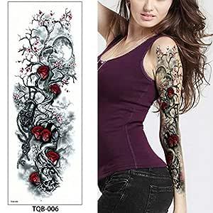 Handaxian Etiqueta engomada del Tatuaje 3pcs Etiqueta de la Cara ...