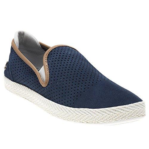on Slip Tombre Sneaker Lacoste Navy Uomo wx8a4EYEq
