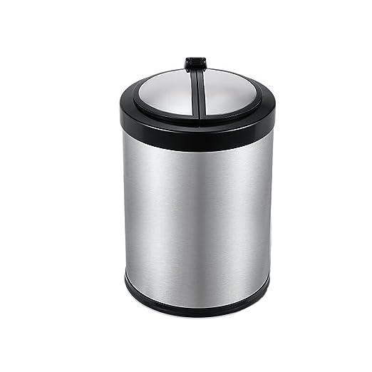 Jiaqi Cubo de basura/cubo de cocina con sensor de movimiento ...