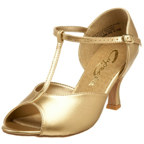 Donna Ballo Scarpe Gold Capezio da q0TOBw1n