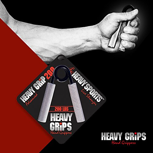 Heavy Grips Set Grip Strengthener Hand Exerciser Hand Grippers for Beginners to Professionals