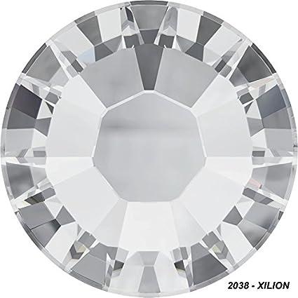 Swarovski HotFix pedrería Crystal ss16 pedrería planchar Xilion Rose original