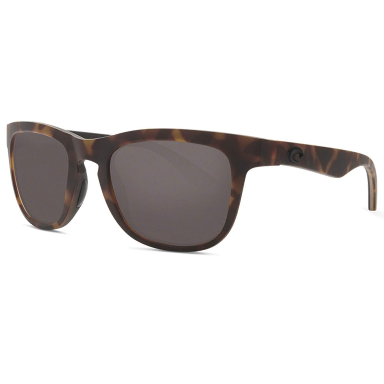 Costa Copra Sunglasses Matte Retro Tortoise/Crystal/Black/Gray 580Glass