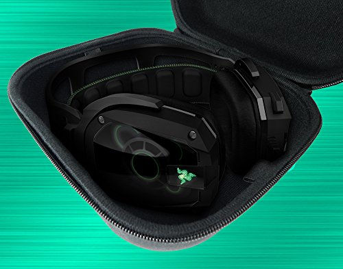 CASEMATIX Protective Gaming Headset Travel Case Bag - Fits SteelSeries Siberia 350 , Siberia 800 , 650 , Siberia V3 Prism , Raw Prism , Siberia 200 , Siberia V2 Headphones for PC Mac PS4 and XBOX