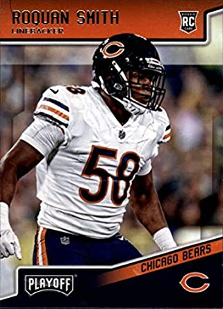 5622ad9f92a 2018 Playoff Football #242 Roquan Smith SP RC Rookie Chicago Bears Rookie  Official NFL Trading