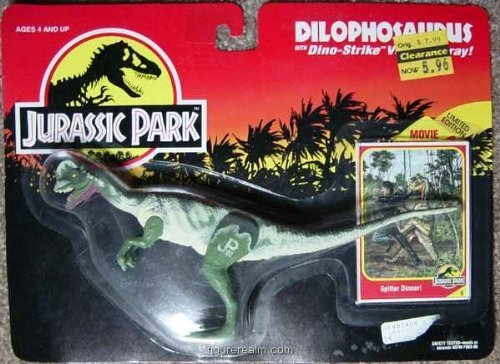 Jurassic Park - Dilophosaurus (1993 Toy)