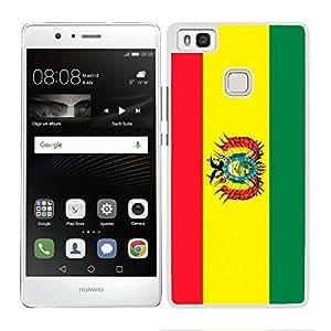 FUNDA CARCASA PARA Huawei P9 Lite DISEÑO BANDERA BOLIVIA