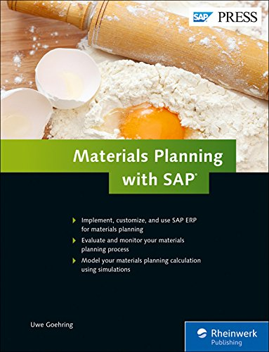 Materials Planning with SAP ERP (SAP MRP) (SAP PRESS)