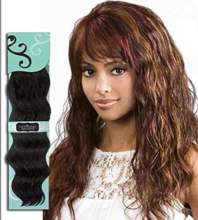 Stupendous Amazon Com Bobbi Boss Indiremi Ocean Wave Virgin Human Hair Remy Hairstyle Inspiration Daily Dogsangcom
