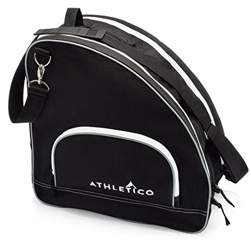 Athletico Ice & Inline Skate Bag Premium Bag to Carry Ice Skates, Roller Skates, Inline Skates for Both Kids and Adults