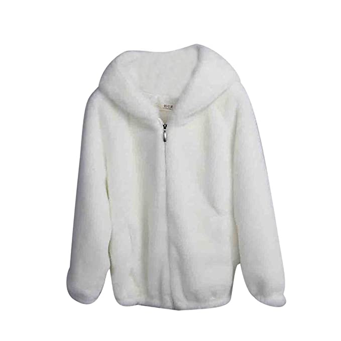 Ropa de Abrigo Lana Mujer Invierno,PAOLIAN Chaquetas Largas Faux Fur otoño Señora Tallas Grandes