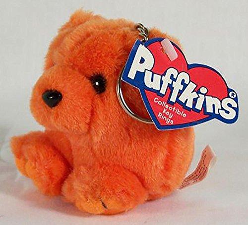 Swibco Puffkin Key Chain Mango the Orange Bear DOB 6/4/98