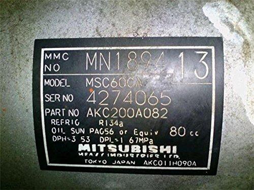 日産 純正 オッティ H92系 《 H92W 》 エアコンコンプレッサー 27630-6A00A P91400-18005980