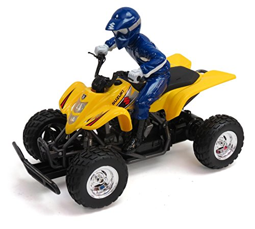 JC Toys Suzuki ATV and Driver Remote Control Vehic
