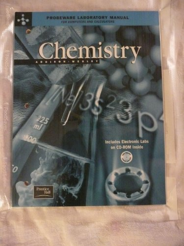 ADDISON WESLEY CHEMISTRY 5TH EDITION PROBEWARE LAB MANUAL WITH CD-ROM 2002C