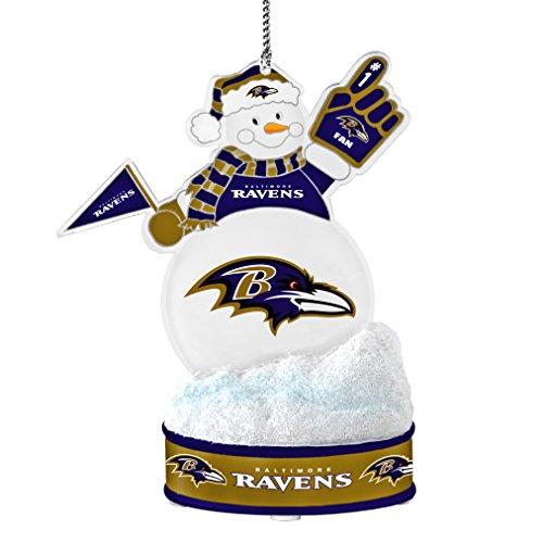 NFL Baltimore Ravens LED Snowman Ornament Nfl Baltimore Ravens Snowman