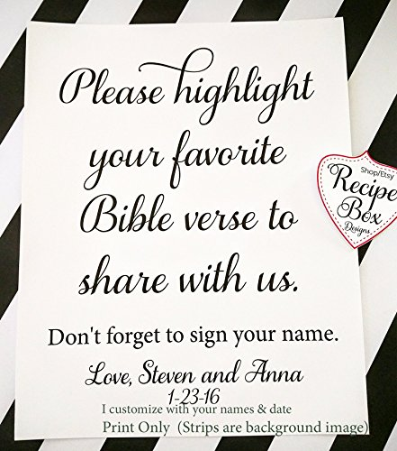 please-highlight-your-favorite-bible-verse-to-share-with-us-8x10-wedding-table-sign-wedding-signage-