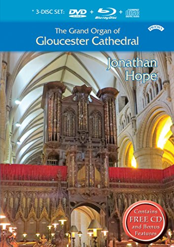 The Grand Organ of Gloucester Cathedral, played by Jonathan Hope - Grand Organ