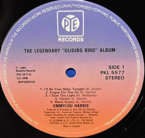 Emmylou Harris Emmylou Harris The Legendary Gliding Bird Album Music