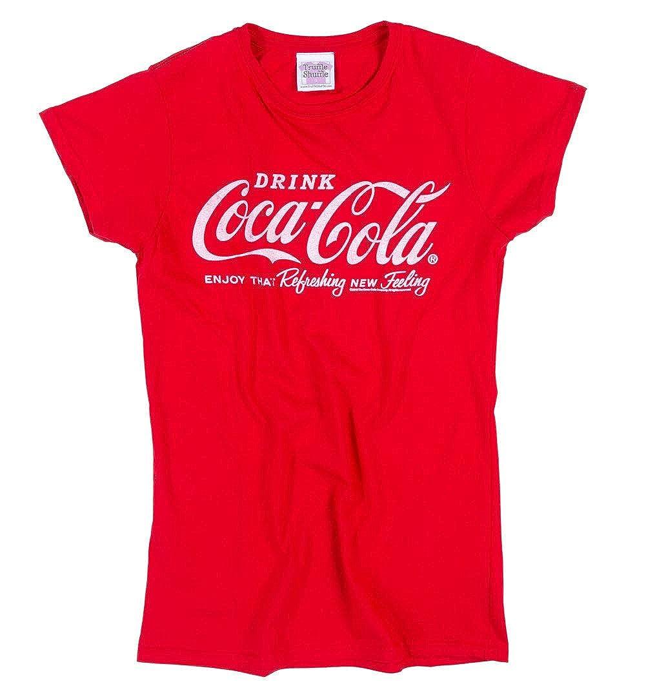 rot Figurbetontes Shirt mit XXL Schrift-Print