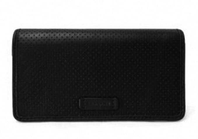 0a20048089177 Image Unavailable. Image not available for. Color  Coach Mens Perforated  Leather Universal Phone Case Wallet