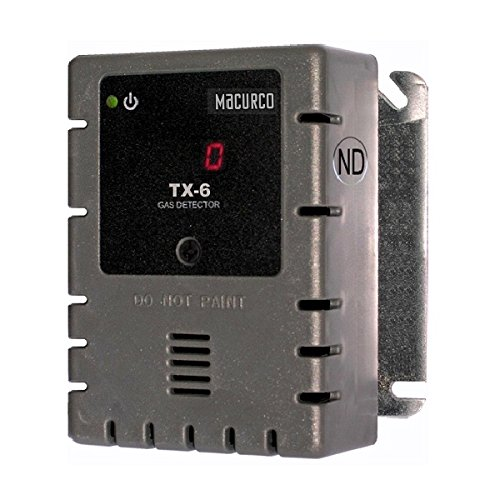 Macurco TX-6-ND Nitrogen Dioxide No2 (Low Voltage) Fixed Gas Detector Controller Transducer
