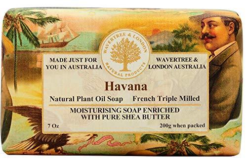 Wavertree and London Havana Australian Natural Luxury Soap Bar 7 Ounces 8 Bars