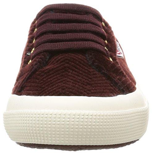 Zapatos Le Superga - 2750-curveflannelw Dk Bordeaux