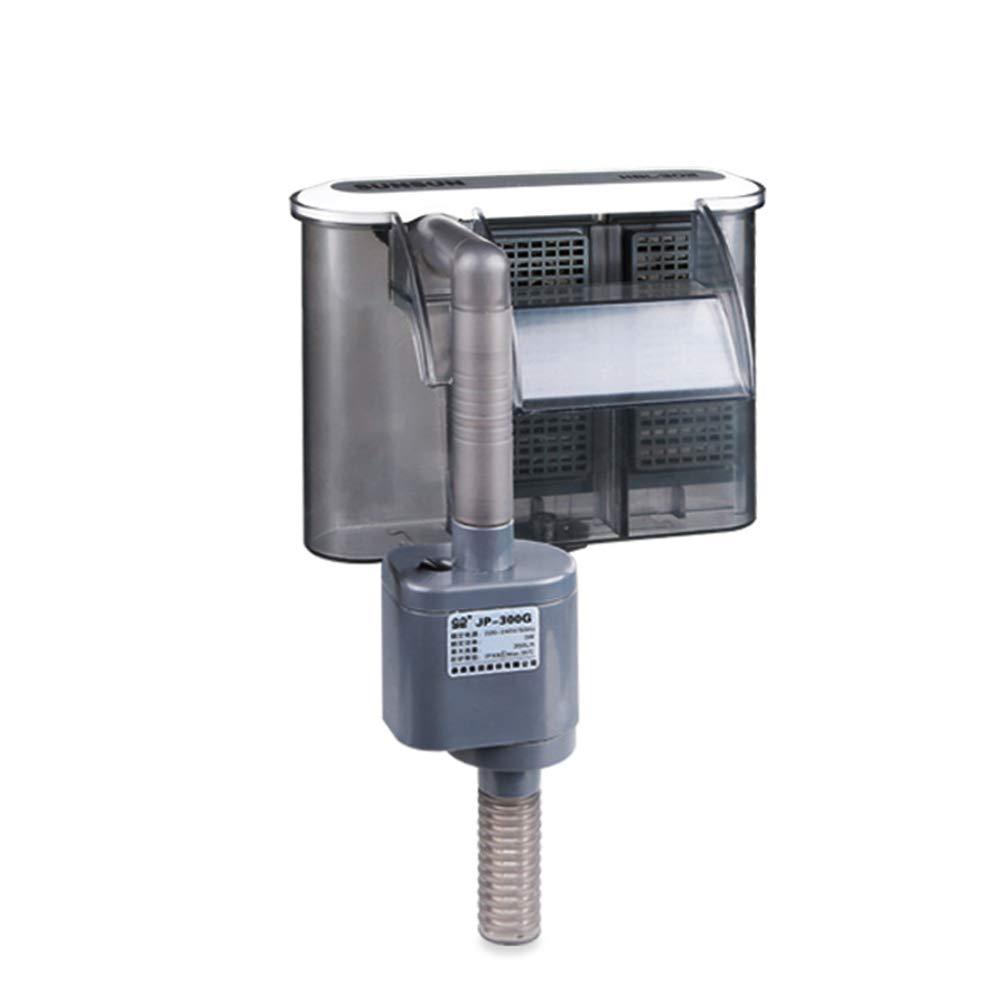 lzndeal Filtro de Agua Bomba Cascada Mini Dispositivo de Suspensión Externa para Acuario de Acuario: Amazon.es: Hogar