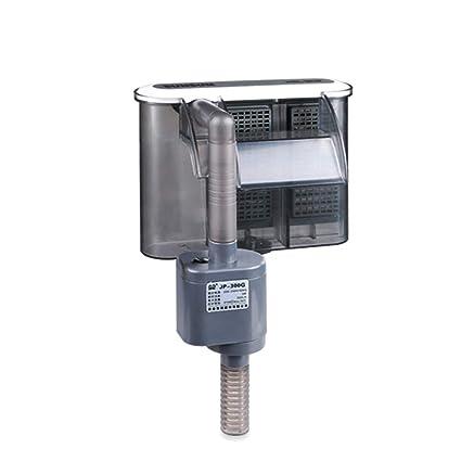 lzndeal Filtro de Agua Bomba Cascada Mini Dispositivo de Suspensión Externa para Acuario de Acuario