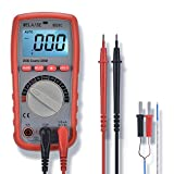 Digital Multimeters WELAISE Auto-Ranging Non Contact Voltage Detection Electronic, AC/DC/Ohm/Volt Test Meter Multi Tester W/Temperature/BatteryTest