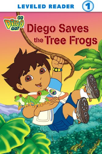 Diego Saves the Tree Frogs (Go, Diego, Go!) (Ready-To-Read Go Diego Go - Level 1) ()