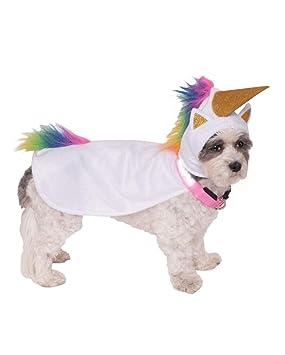 Horror-Shop Traje del Perro del Unicornio Up Light S: Amazon ...