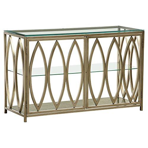 Santa Barbara Metal - Standard Furniture 27916 Santa Barbara Console Table, 48
