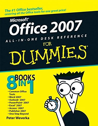 Price comparison product image Office 2007 All-in-One Desk Reference For Dummies