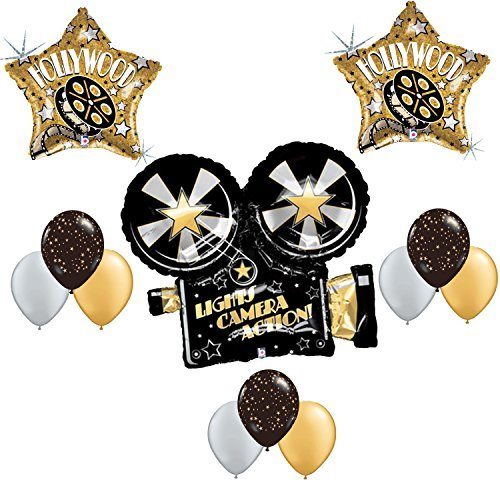 Hollywood Birthday Balloon Decoration Set